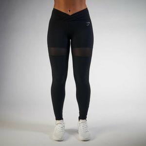 Nikki Blackketter Gymshark Black Dynamic Leggings